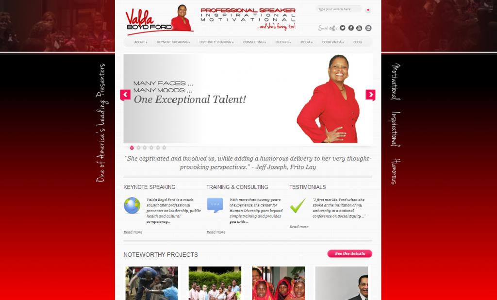 Valda Ford Website