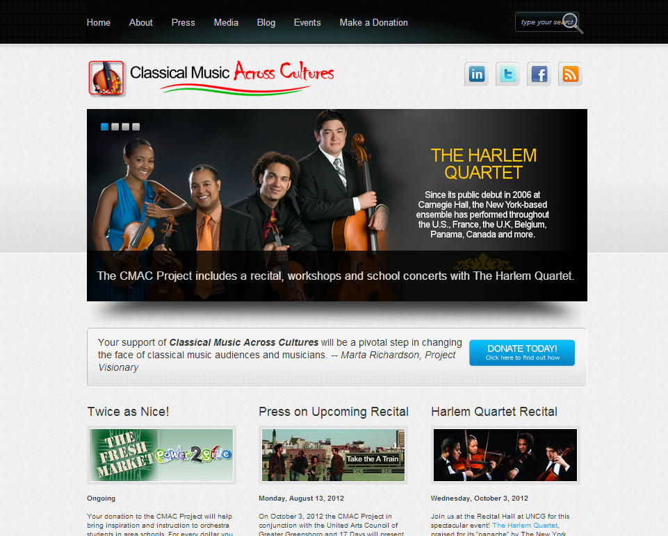 CMAC Project Website