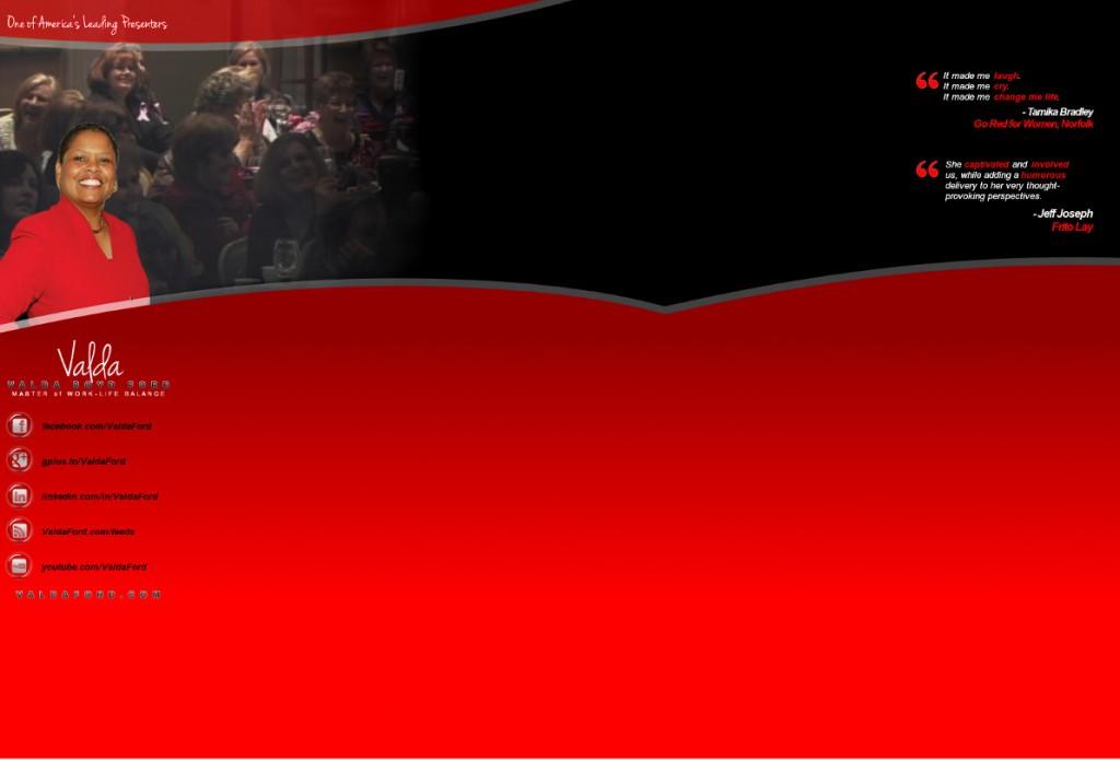 YouTube & Twitter Background for Valda Ford