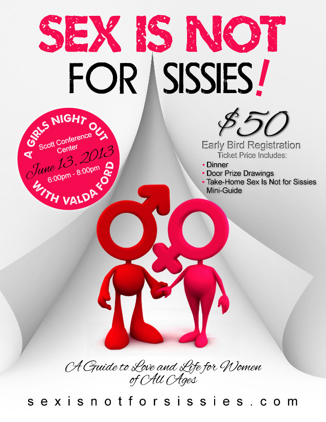 Event Flier for Sex Is Not for Sissies