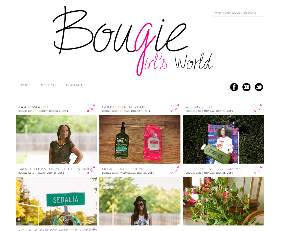 Bougie Girl's World